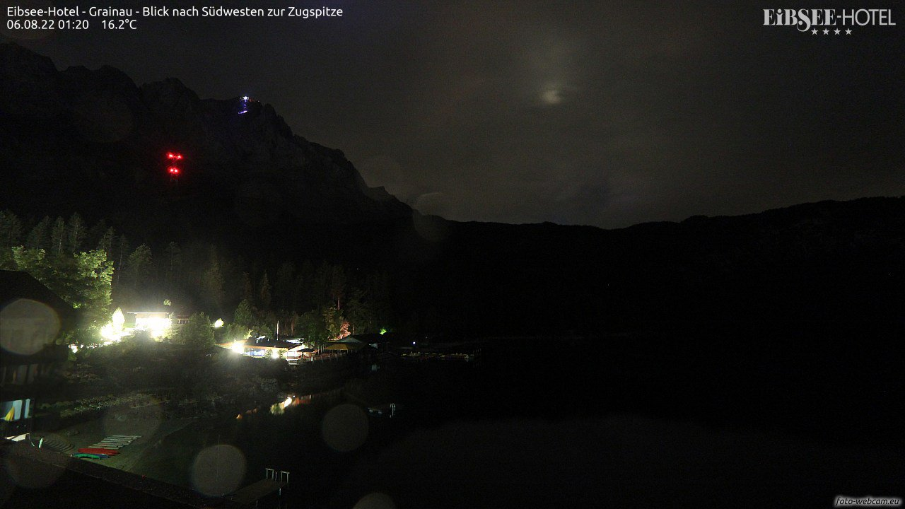 Live Eibsee Webcam